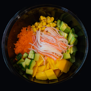 Foto Snow Crab Pokebowl