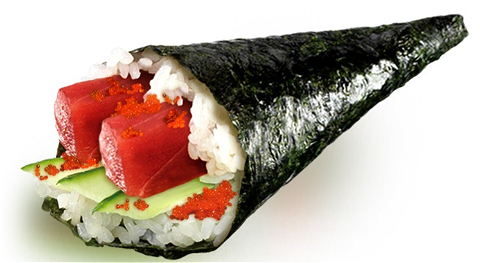 Foto Spicy tuna handroll